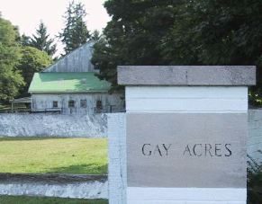 Gay Acres Farm Entrance Sign