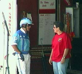 Trainer  and Driver Talk